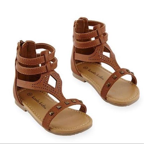 bbdb16d895b4 Koala Kid Baby Girl Gladiator Sandals